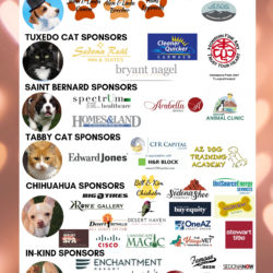 SEPTEMBER 21st ANNUAL PET LOVER'S GALA TICKETS SOLD OUT!