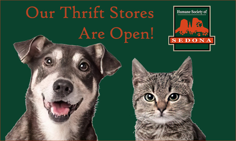 Press Release:  The Humane Society Thrift Stores Open with Care