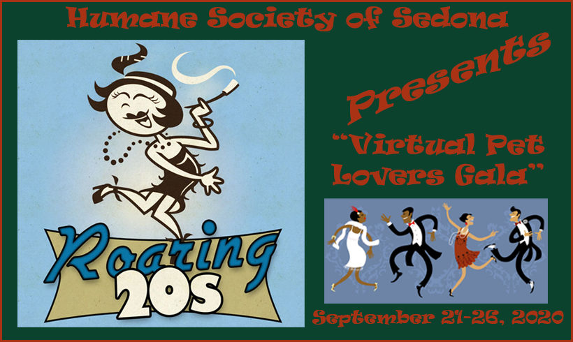 Press Release:  Roaring '20s in 2020 Virtual Pet Lovers' Gala