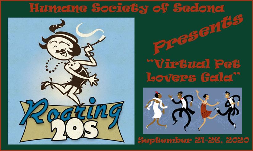 Press Release:  Roaring '20s in 2020 Virtual Pet Lovers' Gala