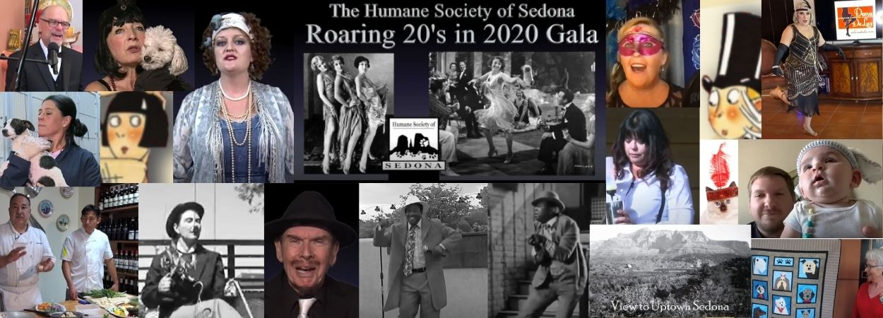 Take a look at our Virtual Roaring ′20s in 2020 Pet Lovers′ Gala by clicking on these images!